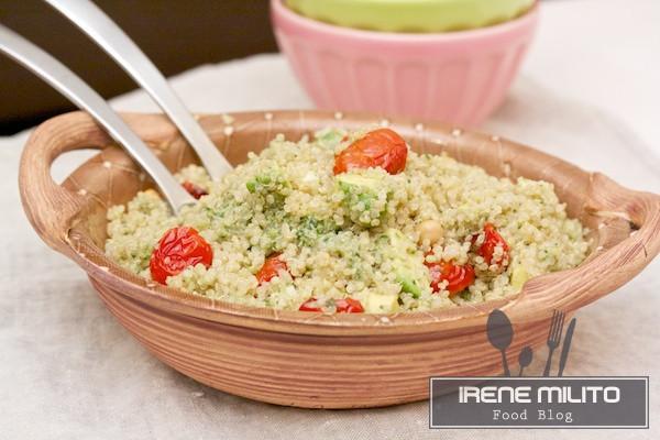 Quinoa bianca al pesto di sedano