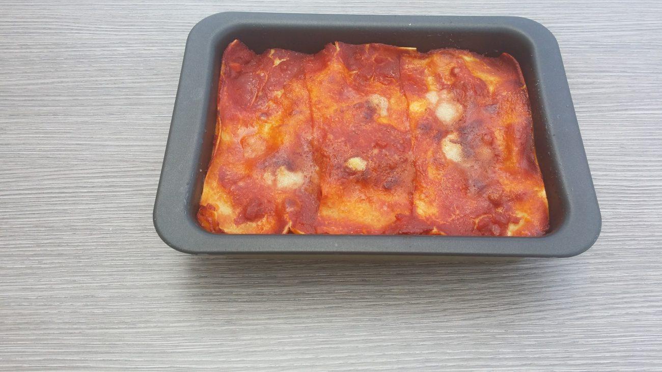 Lasagne all'uovo senza glutine alle melanzane