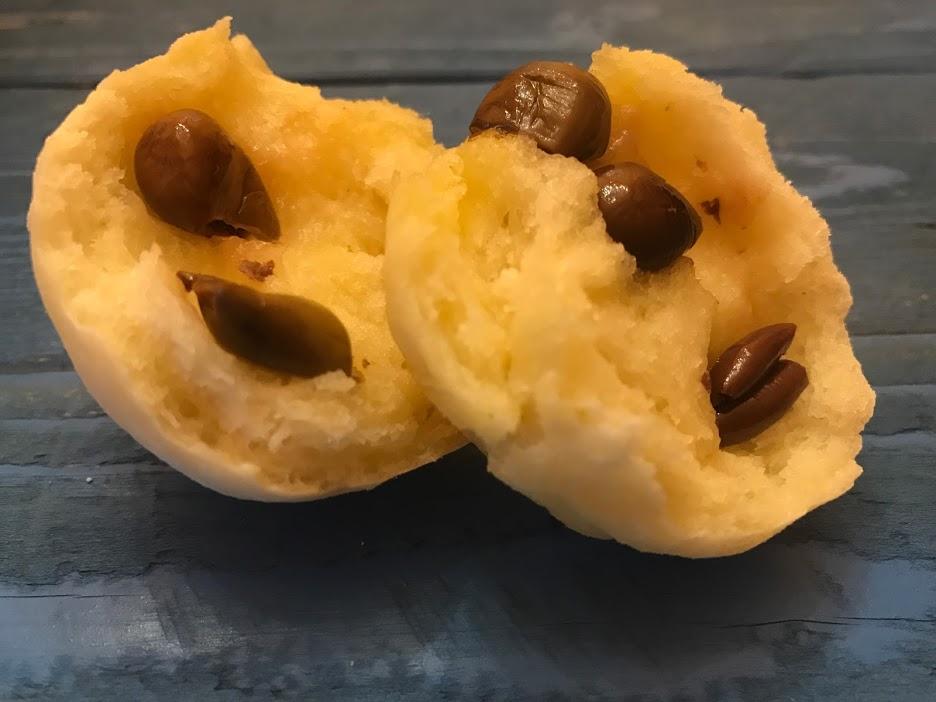 Panini senza glutine ripieni di olive taggiasche